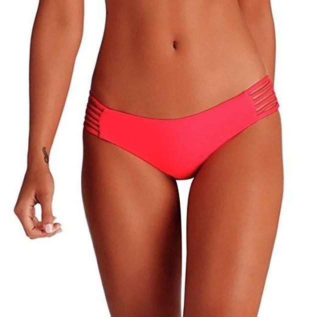 Vitamin A Swimwear Women's Jaydah Braid Bottom Full Eco Starfruit SZ: