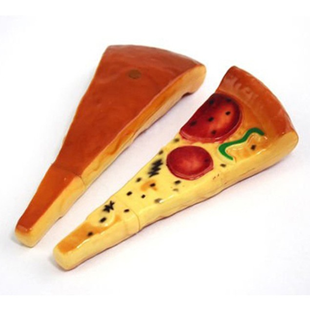 Creative Pizza Slice Shaped Ball Point Pen Office School Stationery Gift