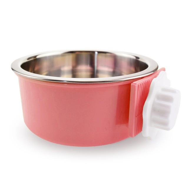 Pet's Hanging Stainless Steel Bowl