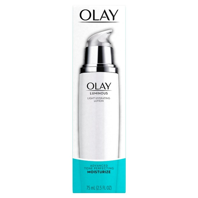 Olay Luminous Light Hydrating Tone Perfecting Face Moisturizer Lotion 2.5