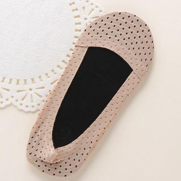 Elastic Ice silk Loafer Boat Non-Slip Invisible Low Cut No Show Socks