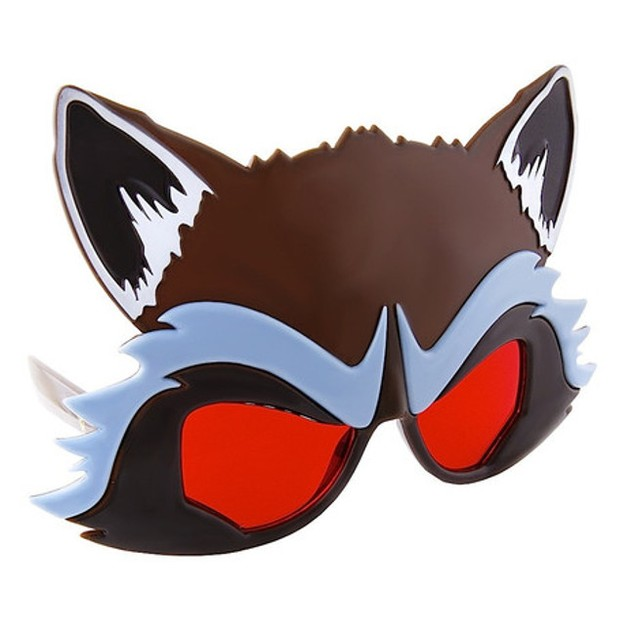 Guardians of the Galaxy Rocket Raccoon Sun-staches