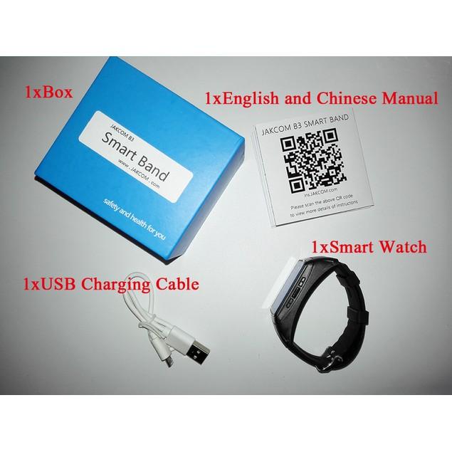 Jakcom B3 Smart Band Watch 2 in 1 Bluetooth Smart Bracelet
