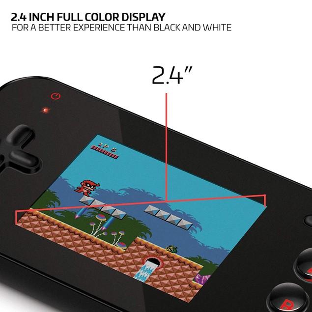 Dg-Dreamgear My Arcade Gamer V Handheld Console 220 Built-in Games, Black
