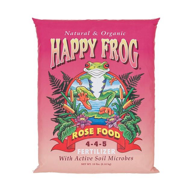 FoxFarm Happy Frog® Rose Food Fertilizer, 18 lbs