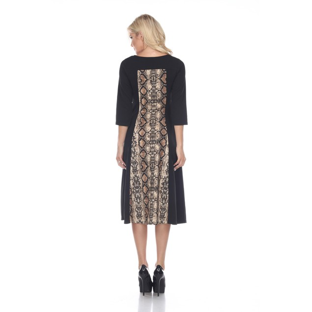 Constance Printed Midi Dress - 3 Colors - Extended Sizes