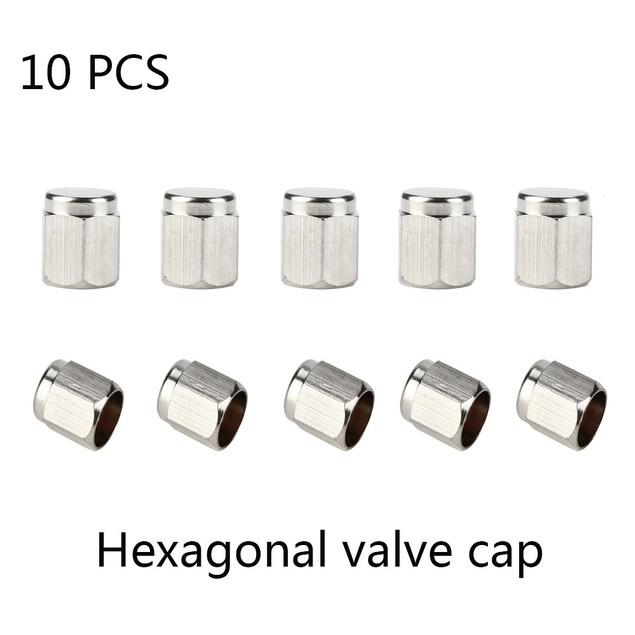 Hexagonal Auto Car Bike Motorcycle Truck wheel Tire Valve Stem Caps@1