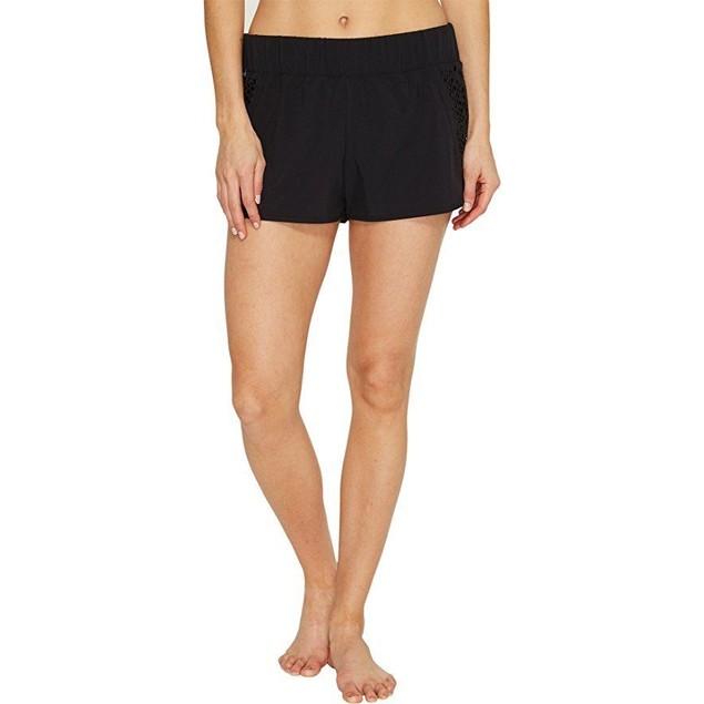 Lole Women's Hanailei Boardshorts Black Swimsuit Bottoms SZ: M