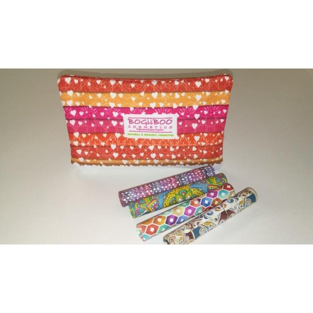 Bogiiboo Cosmetics Natural & Organic Makeup Bag Set