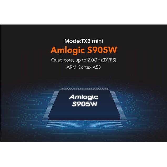 TX3 Mini TV Box S905W 2.4GHz WiFi Android 7.1