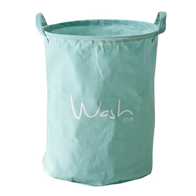 PE Coating Cotton Waterproof Storage Basket Sundries Storage Box