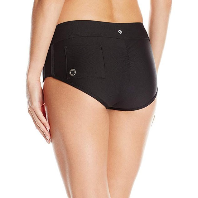 Next Women's Go Girl Banded Bikini Swimsuit Short, Solid Good Karma SZ