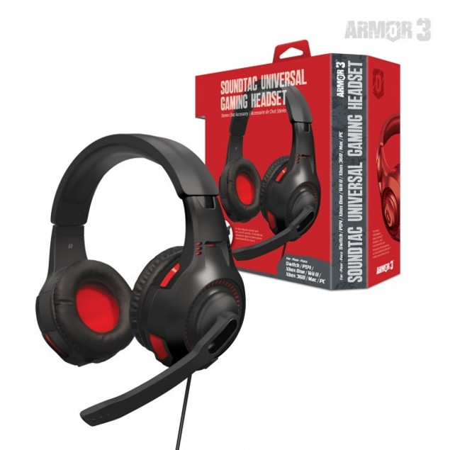SoundTac Universal Gaming Headset - Armor 3