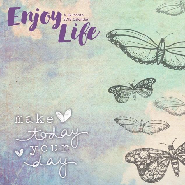Rose Jessica Enjoy Life Wall Calendar, More Moms & Babies by Trends