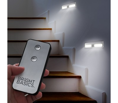 2-Pack Bright Basics Ultra-Bright Wireless Light Bars with Remote Control Was: $49.99 Now: $12.99.