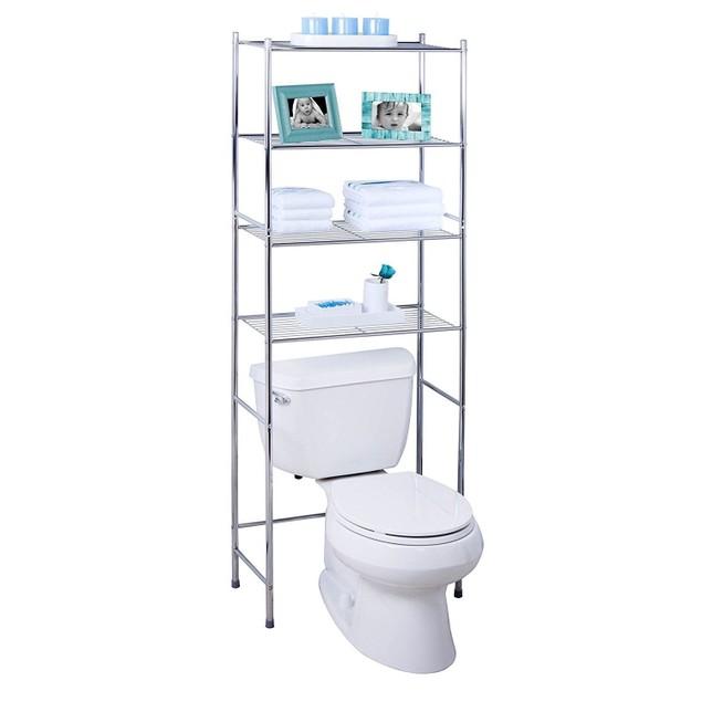 Tier Metal Bathroom Shelf Space Saver, 24.02 x 11.02 x