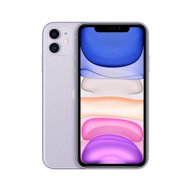 Refurbished A- Grade Apple iPhone 11 64GB A2111 Unlocked Phone  - Purple