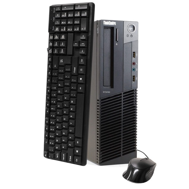 Lenovo M92 Desktop PC (Intel i5 3.2 GHZ, 8GB RAM, 500GB HDD, Windows 10)