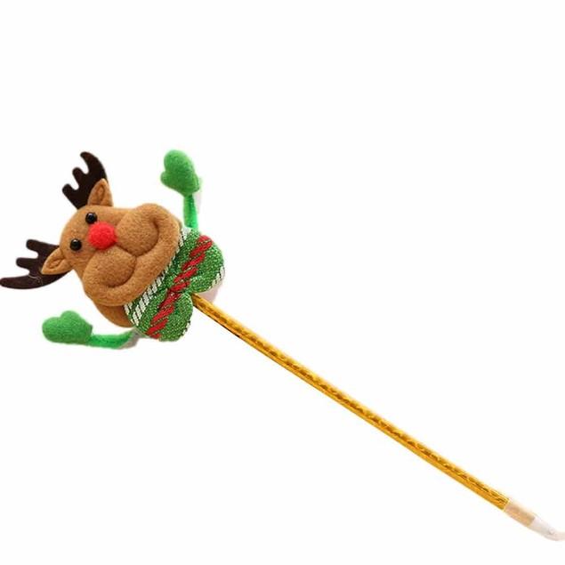 Children Stationery Christmas Santa Claus Mixed Ballpoint Pen Kids Gifts