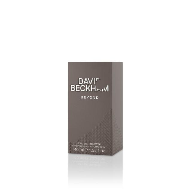 David Beckham Beyond Eau De Toilette Natural Spray Cologne for Men, 1.35