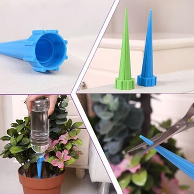 4 Pcs Bottle Irrigation Cone Watering Spike Plant Flower Waterers