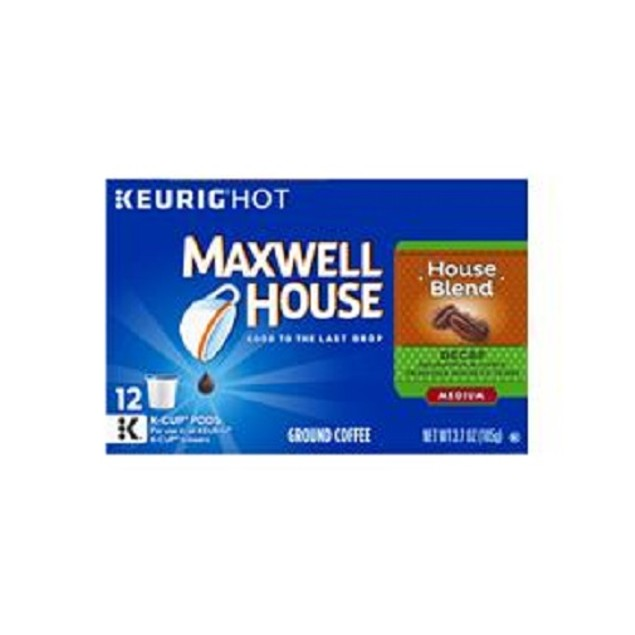 Maxwell House House Blend Decaf K Cups