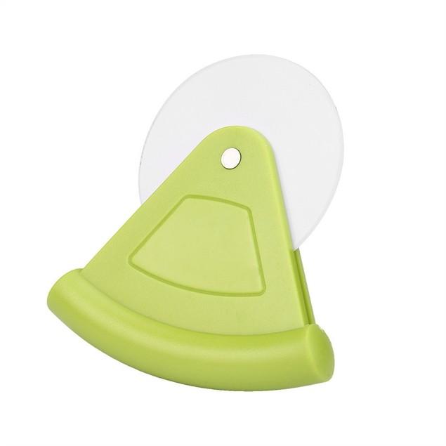 New Plastic Pastry Nonstick Pizza Cutter Wheel Slicer Blade Grip