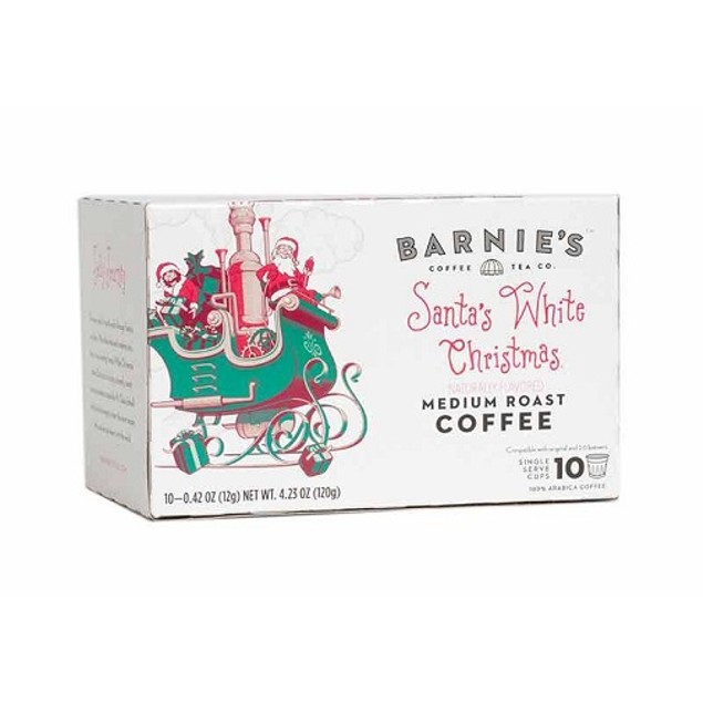 Barnie's Coffee Santa's White Christmas Keurig K-Cups