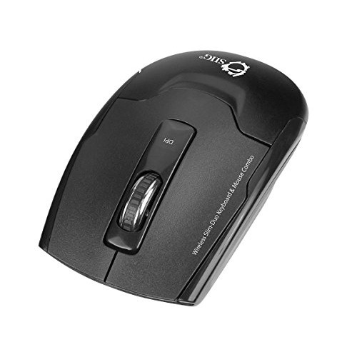 SIIG Wireless Slim-Duo Keyboard /& Mouse Combo JK-WR0H12-S1