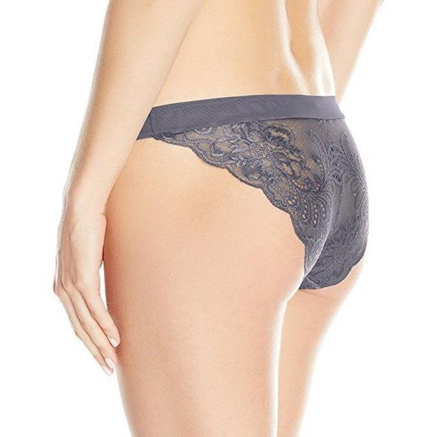 Le Mystere Women's Sophia Lace Bikini Panty, Eclipse, SZ: 8