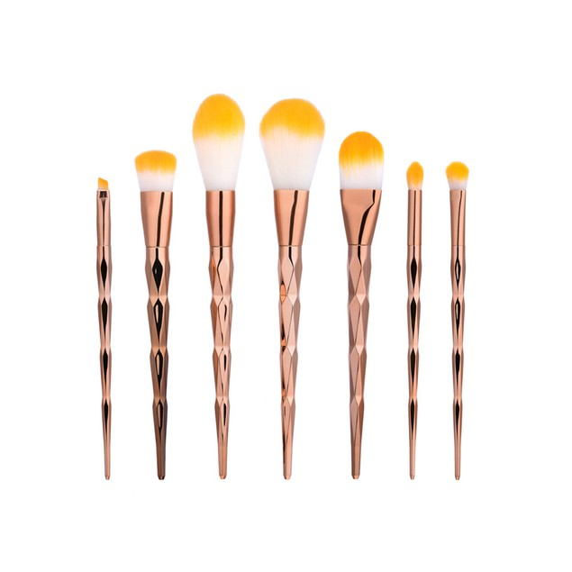 7Pcs Blending Pencil Foundation Makeup Brushes Eyeliner Brush 205