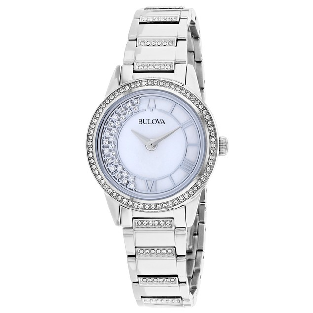 Bulova Women's TurnStyle Mother of Pearl Dial Watch - 96L257