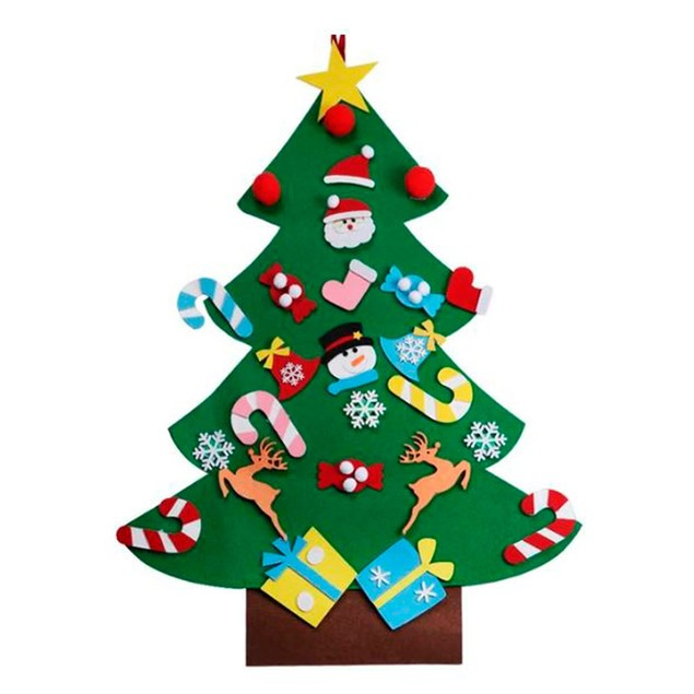 Kids Decorative DIY Felt Christmas Tree