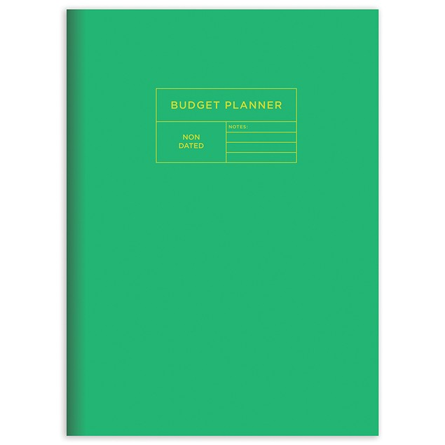 Undated Budget Tracker and Family Finance Monthly Planners