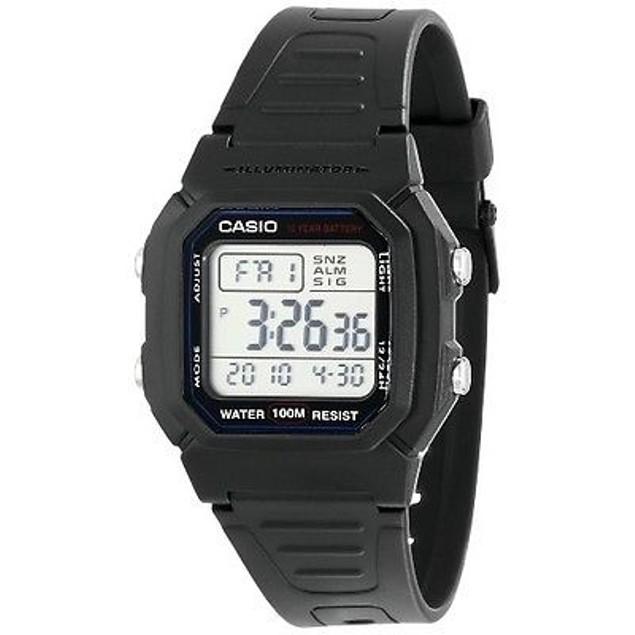 Casio Men's Classic Digital Sport Watch W800H-1AV