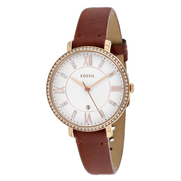 Fossil Women's Jacqueline White Dial Watch - ES4413