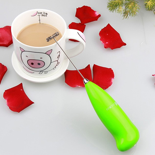 Hot Drinks Milk Frother Foamer Whisk Mixer Stirrer Egg Beater