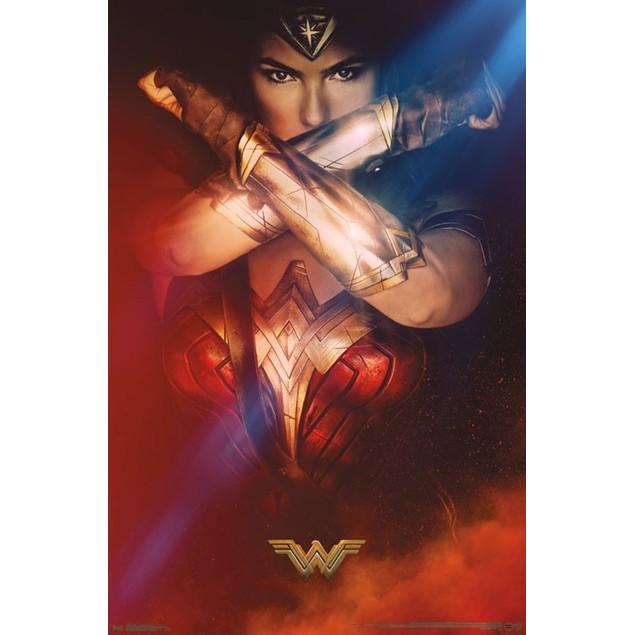Wonder Woman Bracelets Wall Poster