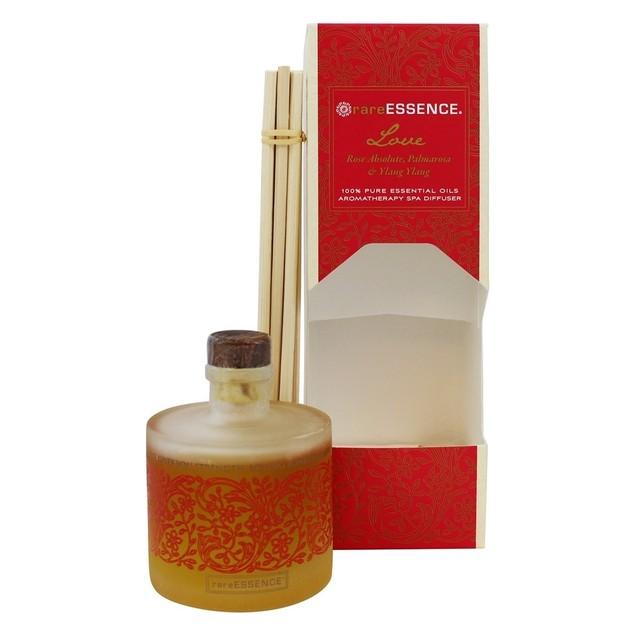 Rare Essence 100% Pure Essential Oil Aromatherapy Reed Diffuser, 3 Fl. Oz.