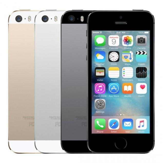 660edc0a170 Apple iPhone 5s Unlocked LTE Smartphone - 16GB 32GB 64GB - Silver Gray Gold