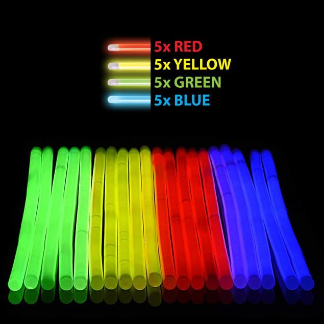 Glow Sticks Emoji Jewelry Packs - Glow in the Dark Party Favors