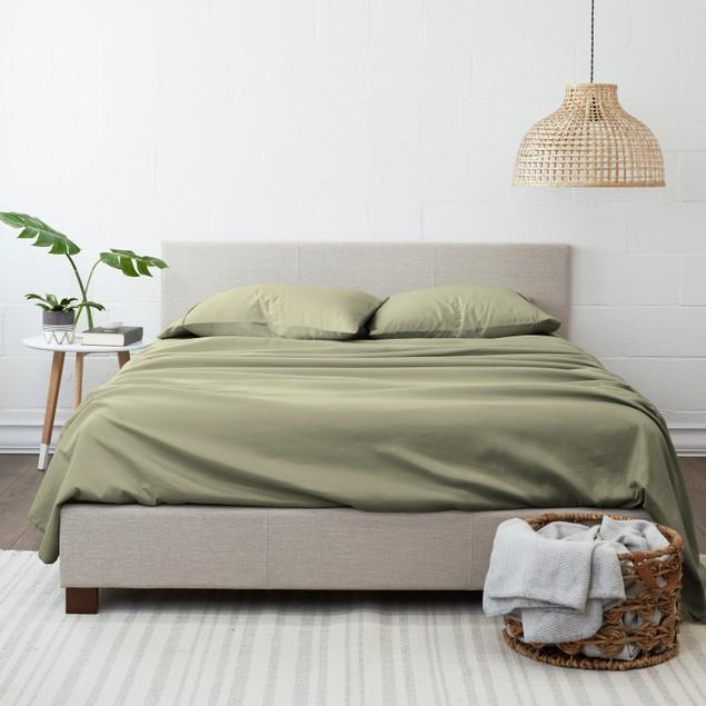 Olive & Twill Extra Soft Wrinkle-Free Microfiber 4 Pc Sheet Set