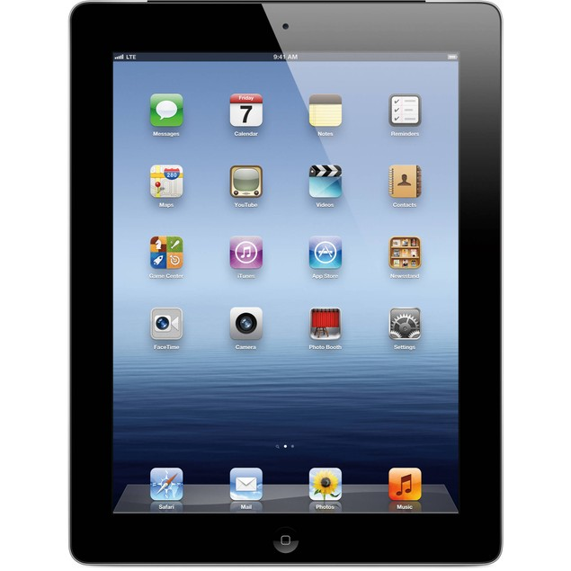 Apple iPad 2 MC769LL/A (16GB WiFi Black) - Grade A