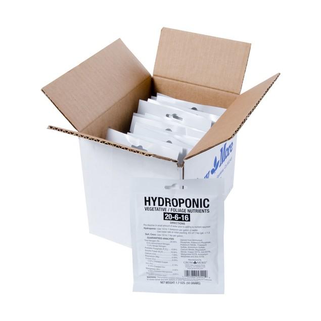 Hydroponic Vegetative Nutrients, 50 gram, Pack of 25