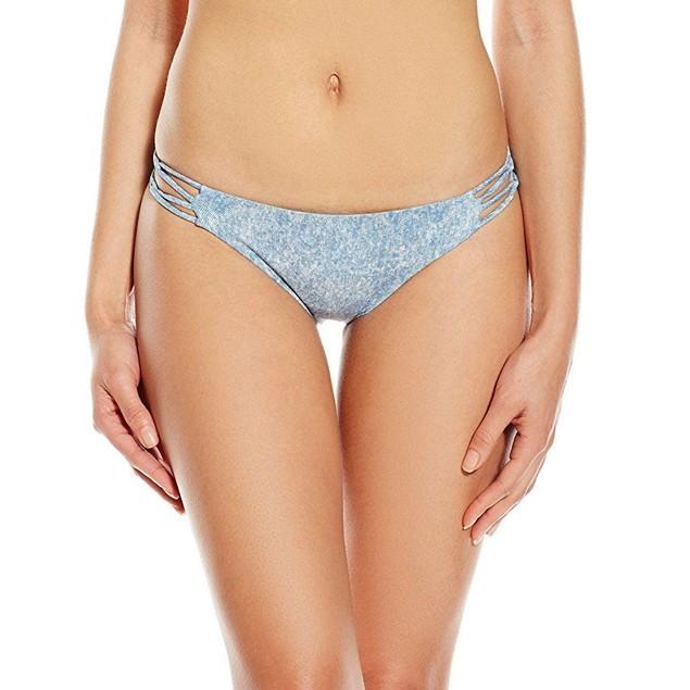 Billabong Women's Denim Daze Tropic Bikini Bottom,  SZ Medium