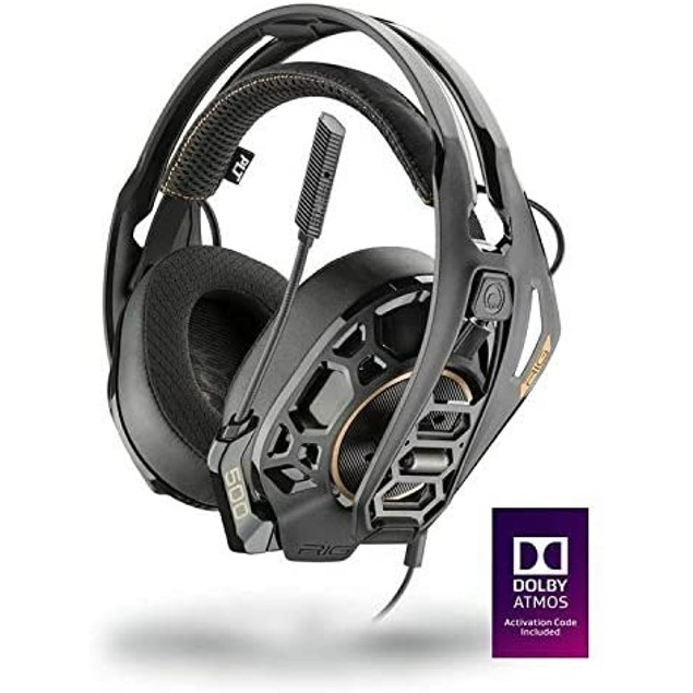 Plantronics RIG 500 Pro HC Gaming Headset Over Ear- Xbox & PS4