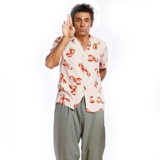 Cosmo Kramer Lobster Shirt