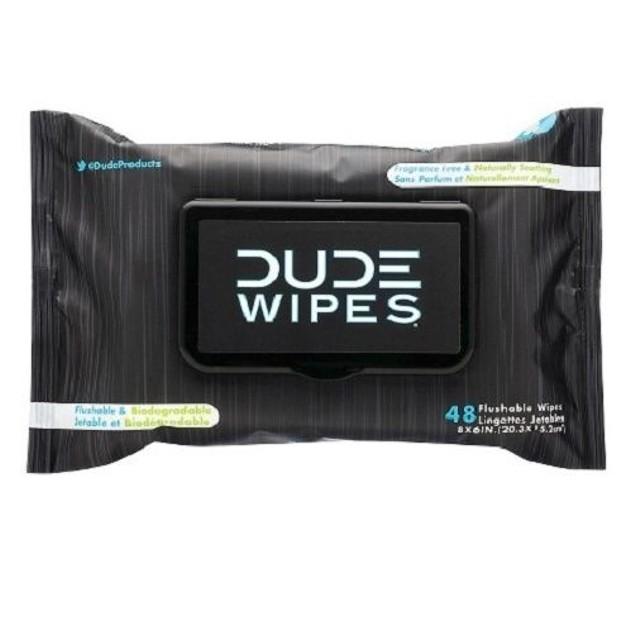Dude Wipes Crib Edition Flushable Wipes