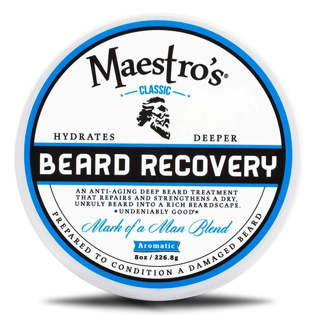 Maestro's Classic Mark of a Man Blend Deep Conditioning Beard Recovery, 8
