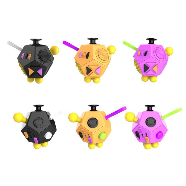 Fidget Cube Stress Anxiety Cube Toy Relieves Stress And Anxiety And Relax
